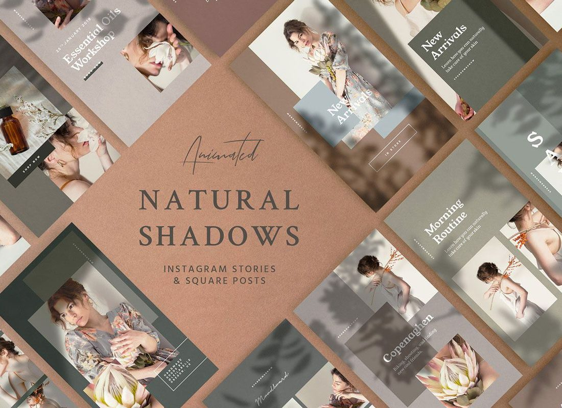 Cover Natural Shadows Stories Social Kit