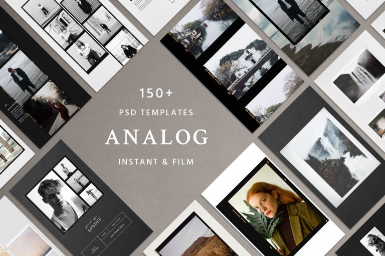 Analog and instant social kit