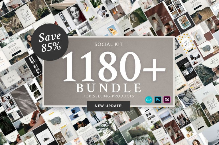 Social Kit Bundle 1180