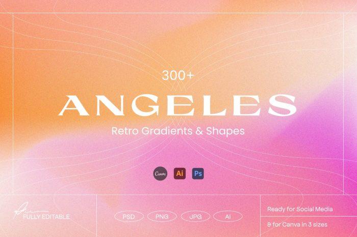 Angeles gradient background